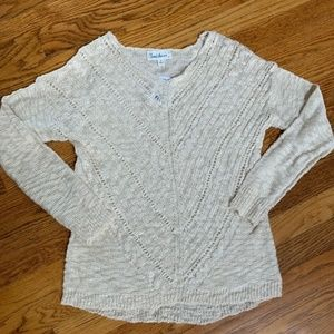 ⭐️4/$25 Cloud Chaser Open Knit Sweater NWT